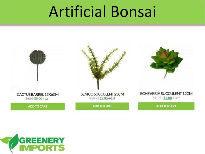Artificial Bonsai