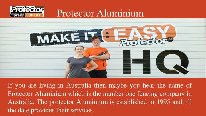 Protector Aluminium