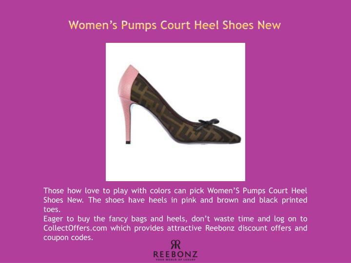 Women's Pumps Court Heel Shoes New
