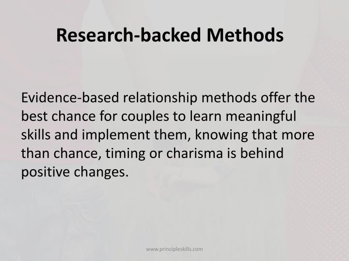 Research-backed Methods