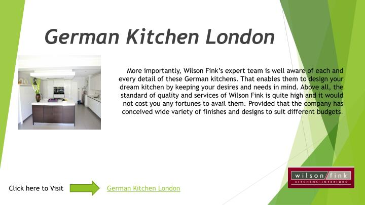 PPT German Kitchen London PowerPoint Presentation ID 7352736