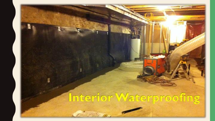 ppt basement waterproofing services hamilton leaky basement repair