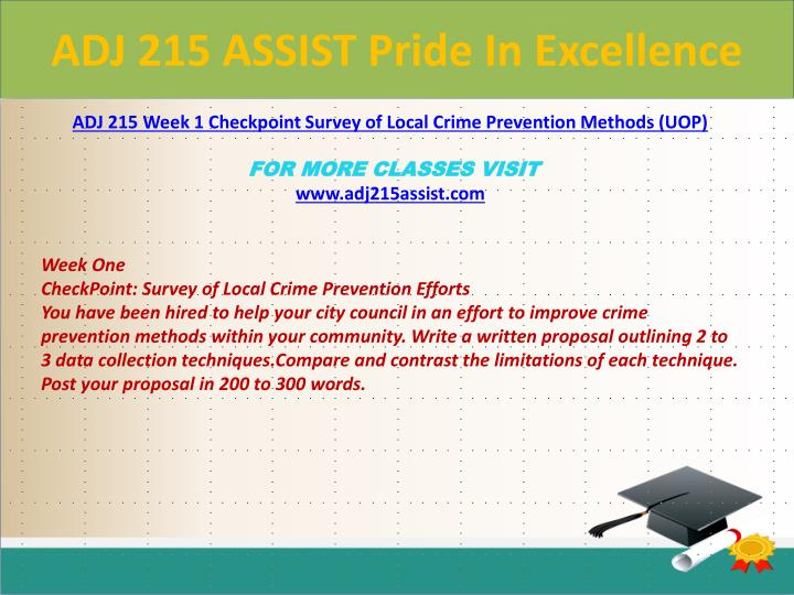 Adj 215 assist pride in excellence1