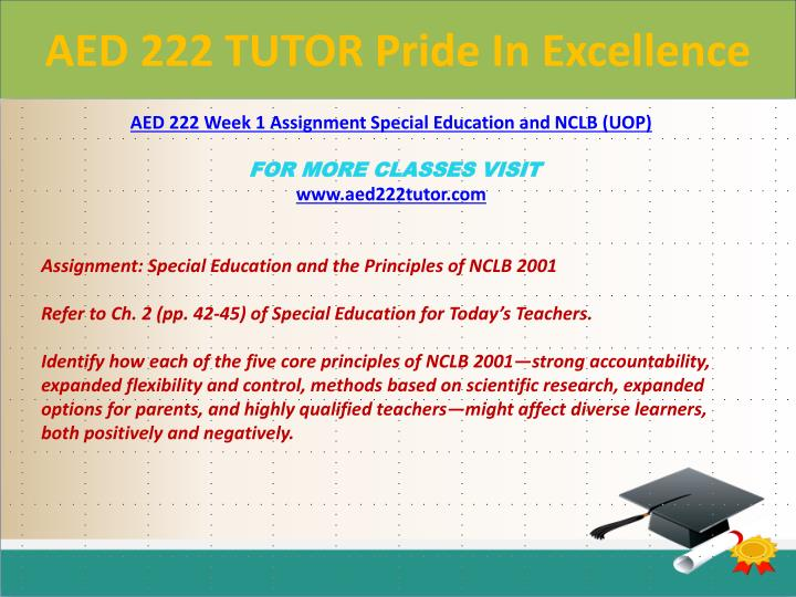 Aed 222 tutor pride in excellence1