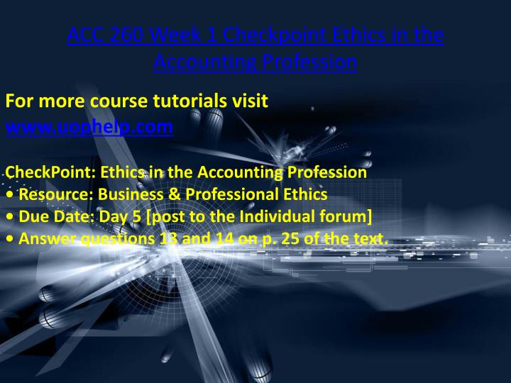 ethics in accounting profession Accounting ethics refers to the standards of right and wrong conduct that apply to the accounting profession various accounting organizations maintain professional codes of conduct to assist.