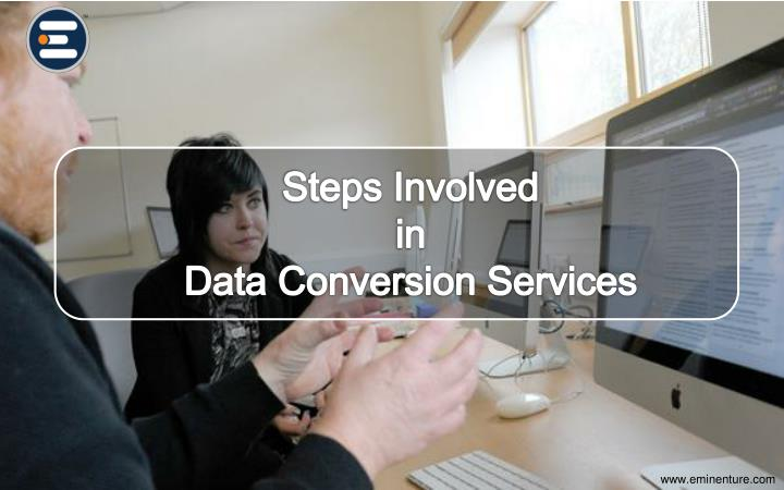 steps involved in processing of data