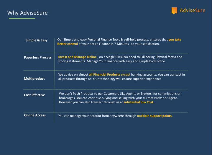 Why AdviseSure
