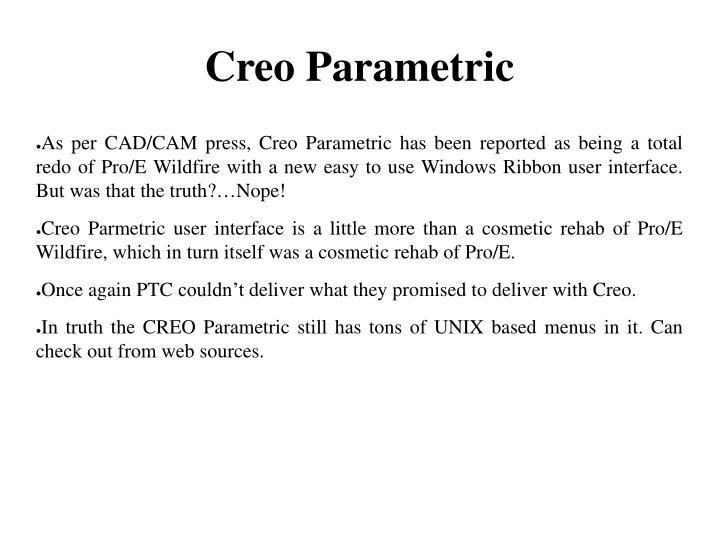 Creo Parametric