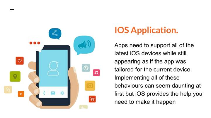 IOS Application.