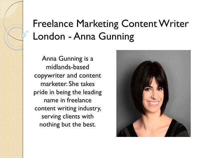 Freelance copywriter – London, UK & Worldwide
