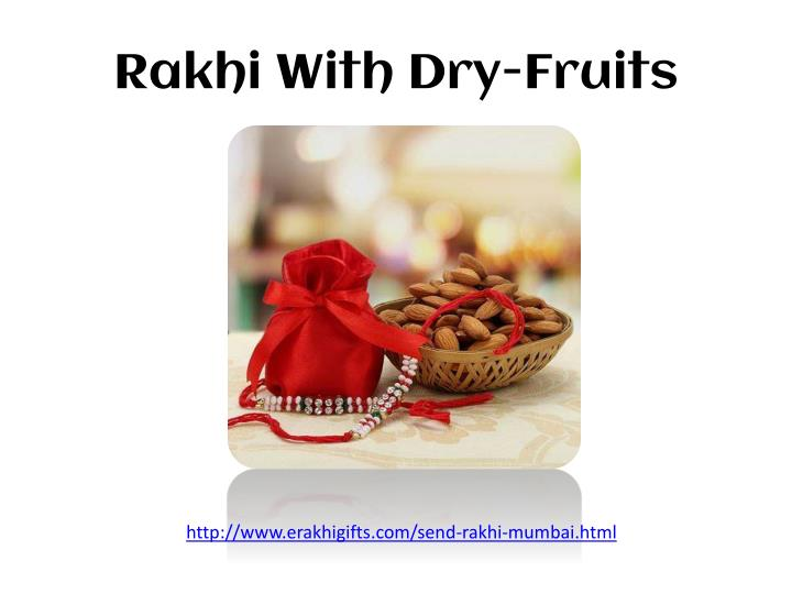 Rakhi With Dry-Fruits