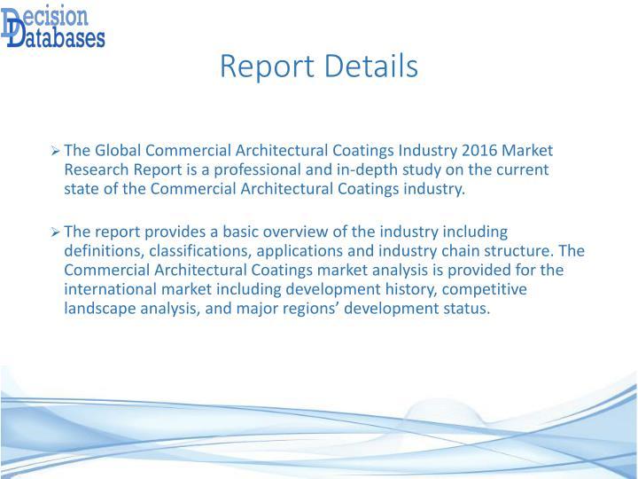 Report Details