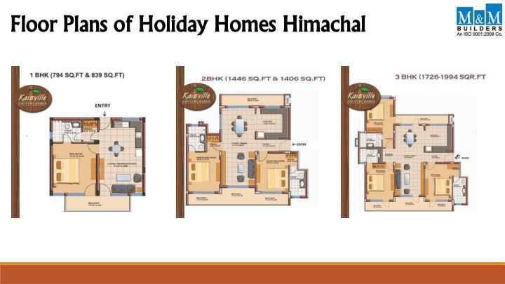 Holiday Builders Floor Plans: Kaisville Country Homes- Kullu Manali PowerPoint