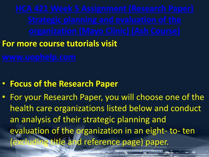 research paper on strategic management Business management research paper topics business management is a broad topic and writing a research paper on the field can be challenging to most students.