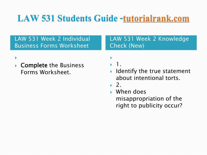 law531 r9 business forms worksheet wee Ja 10-21 business entities view the step-by-step solution to: business forms worksheet law/531 version 7.