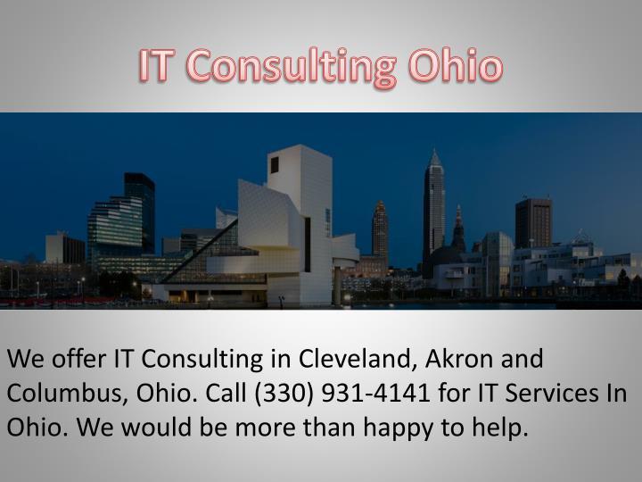 IT Consulting Ohio