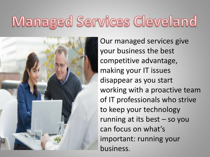 Managed Services Cleveland