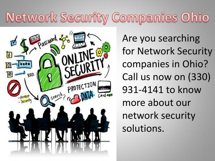 Network Security Companies Ohio