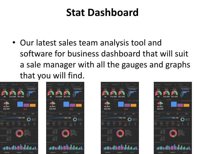 Stat Dashboard