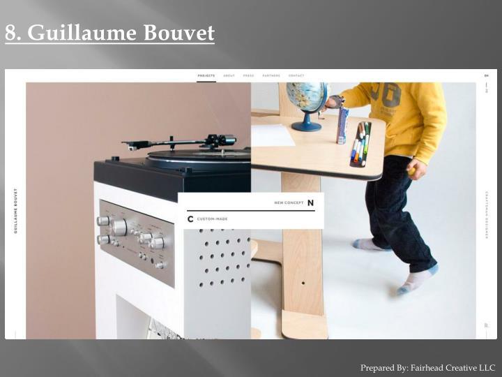8. Guillaume Bouvet