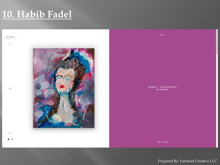 10. Habib Fadel