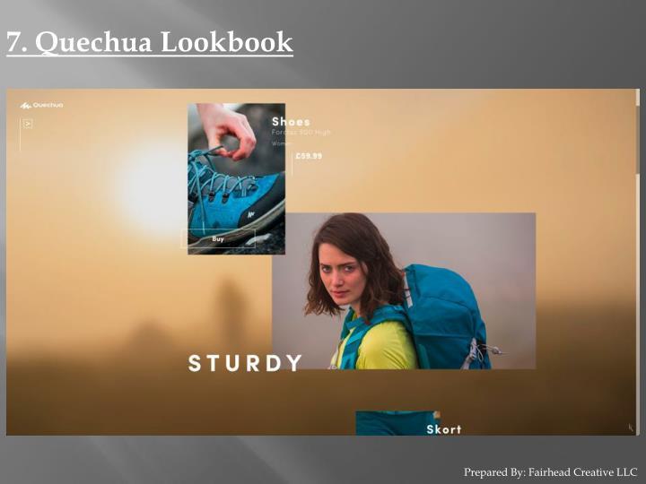 7. Quechua Lookbook