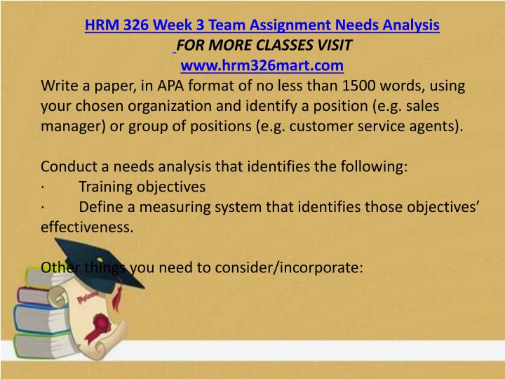 hrm 326 week 4 dq 2 Hrm 326 week 4 dqs log in view cart (0 items) checkout please leave this field blank hrm 326 week 4 dqs home updates wish list ask your question tweet .