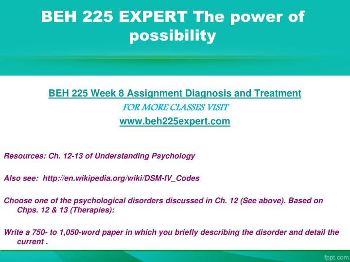 BEH 225 EXPERT The power of possibility