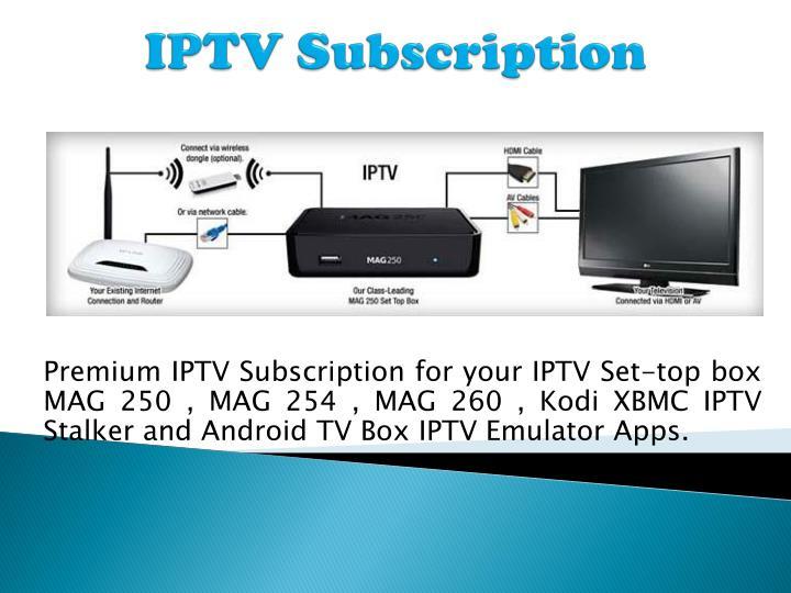 iptv subscription for iptv set up box and iptv channels