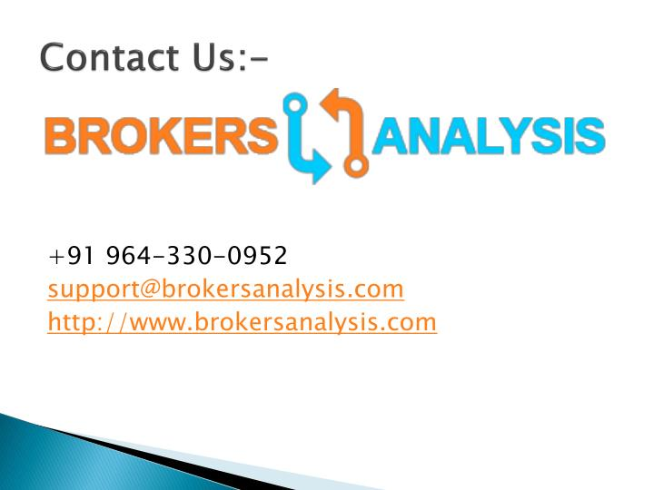 List of top 10 brokerage firms in india