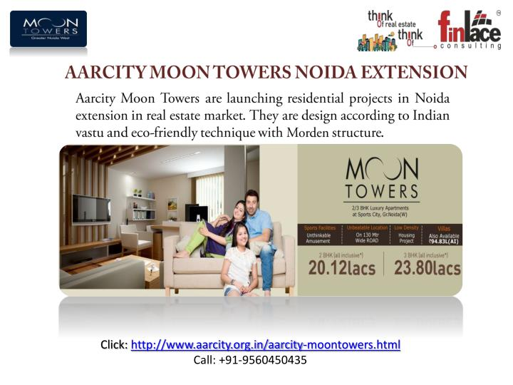 Aarcity moon towers noida extension