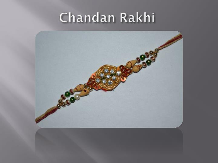 Chandan rakhi