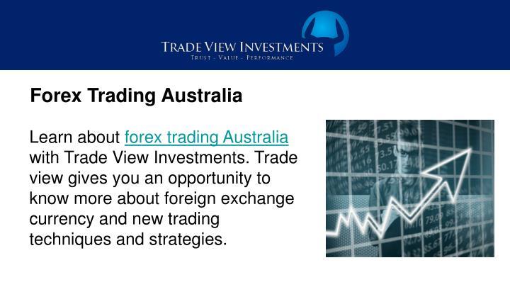 Forex Trading Australia