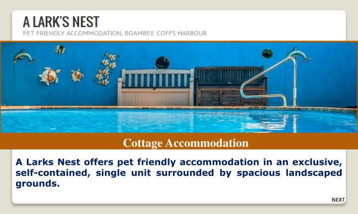 Cottage Accommodation