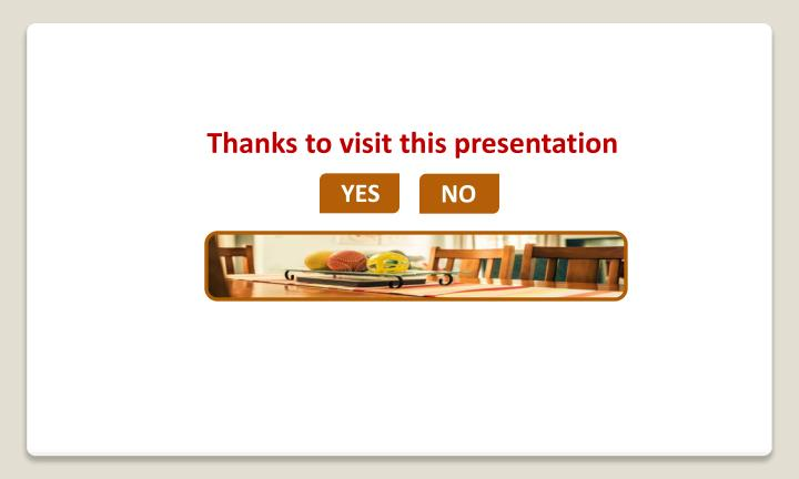 Thanks to visit this presentation