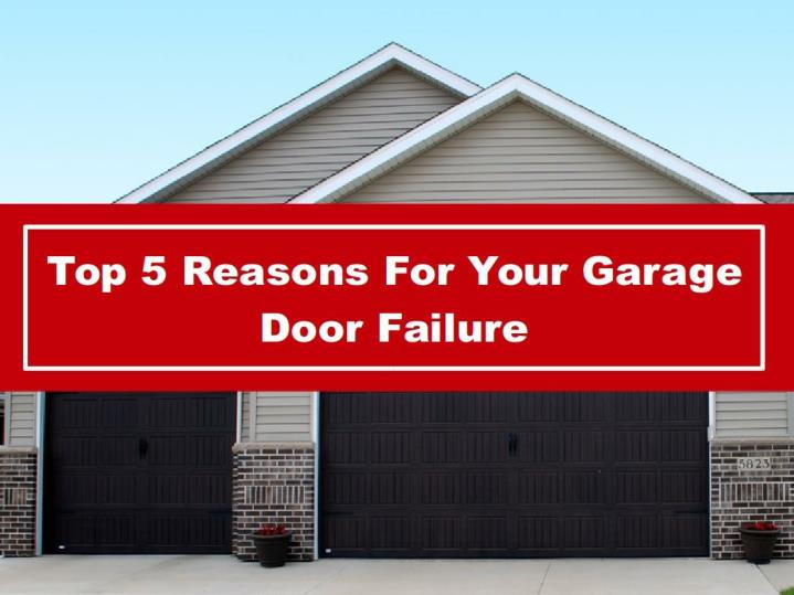 Ppt top 5 reasons for your garage door failure powerpoint presentation id 7355938 - Reasons inspect garage door ...