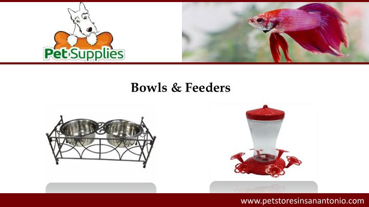 Bowls & Feeders