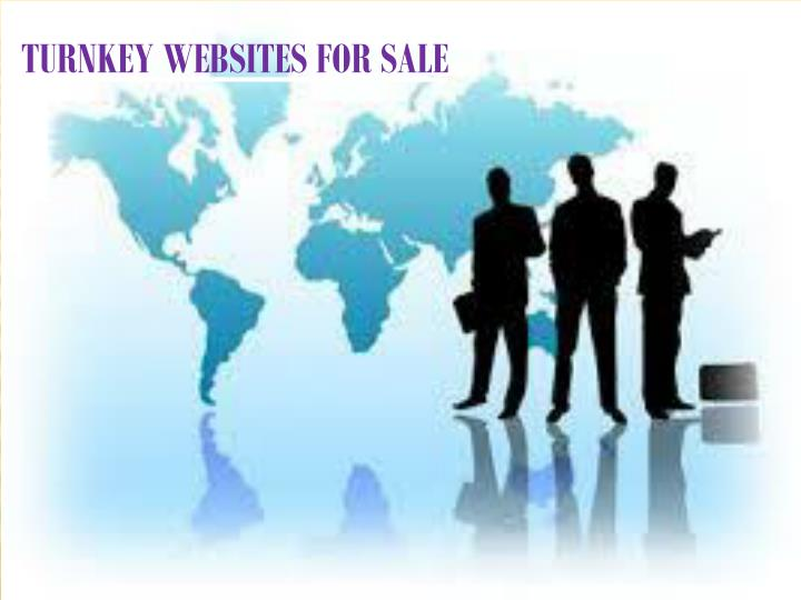 TURNKEY WEBSITES FOR SALE