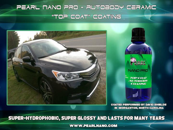 Pearl nano coatings protect your car paint