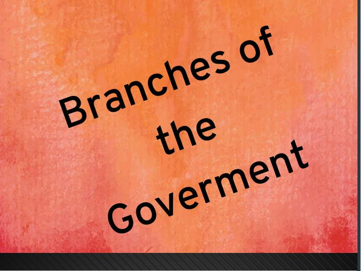Branches of