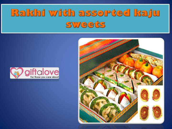 Rakhi with assorted