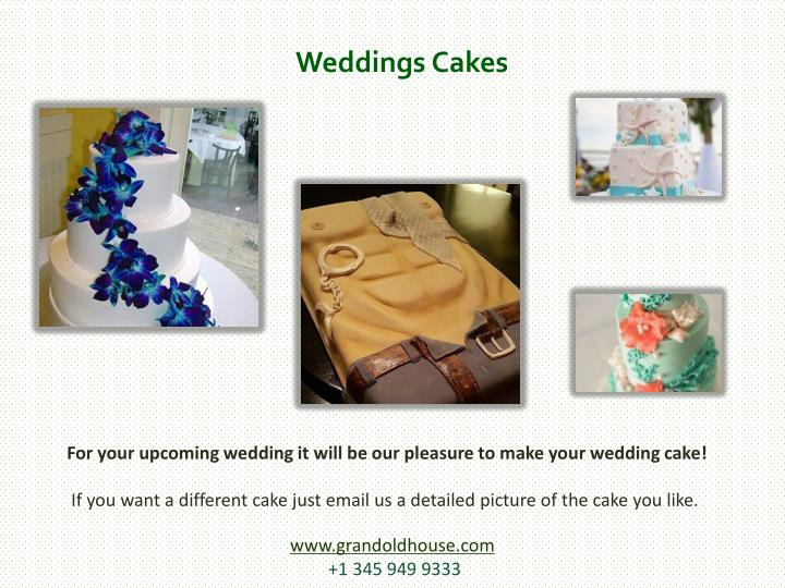 Weddings Cakes