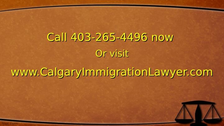 Call 403-265-4496 now