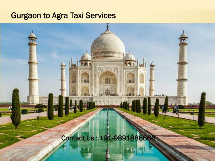 Gurgaon to Agra