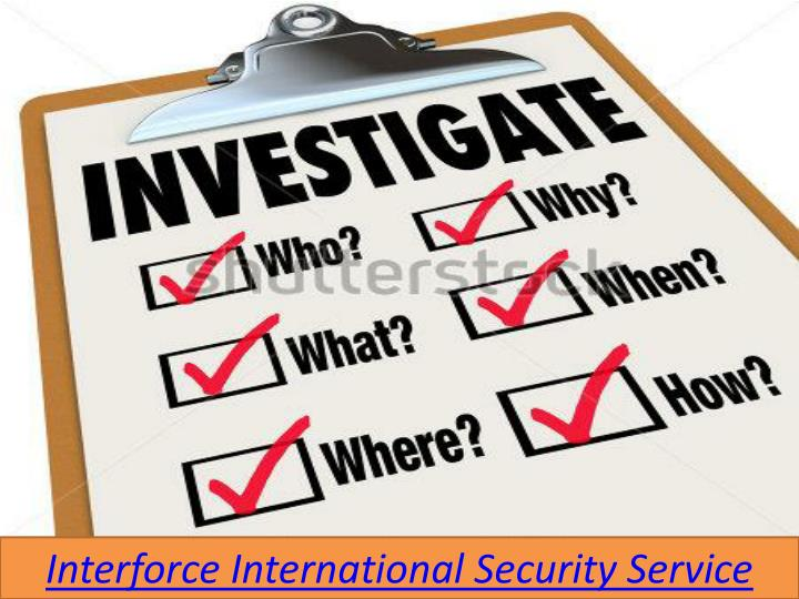 Interforce International Security Service