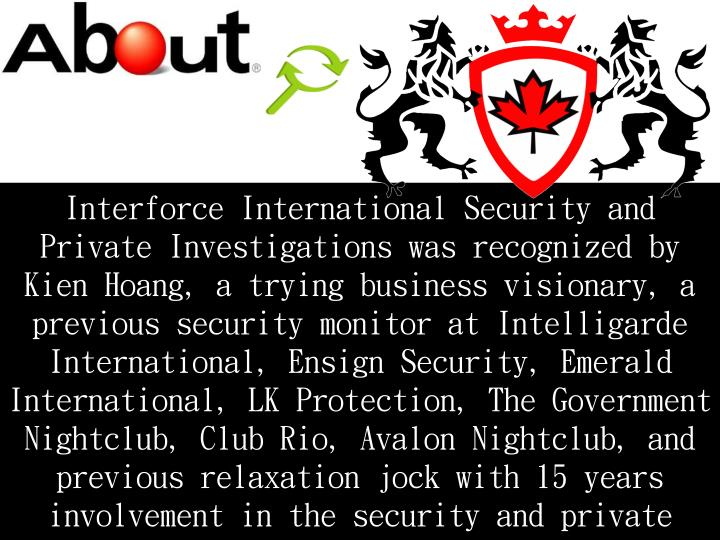 Interforce International Security and