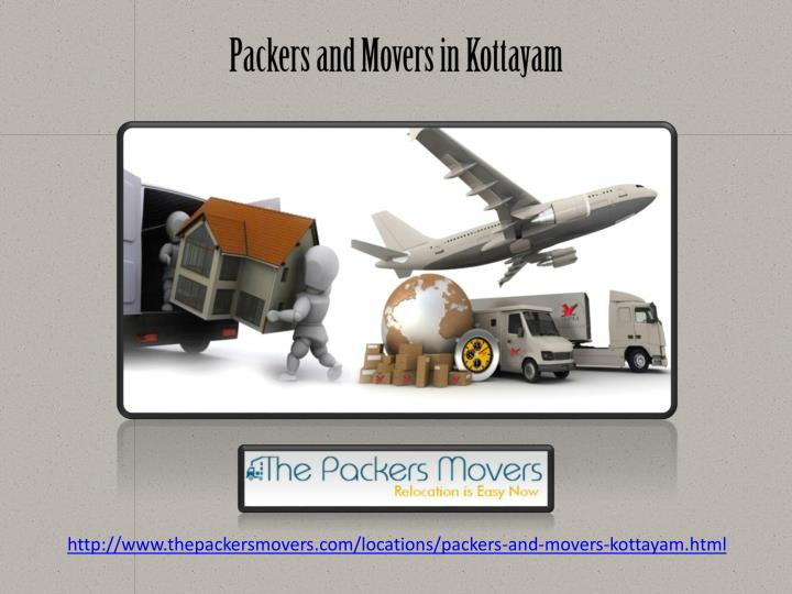 Packers and Movers in Kottayam