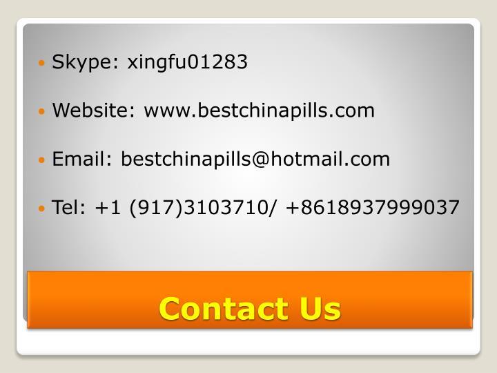Skype: xingfu01283