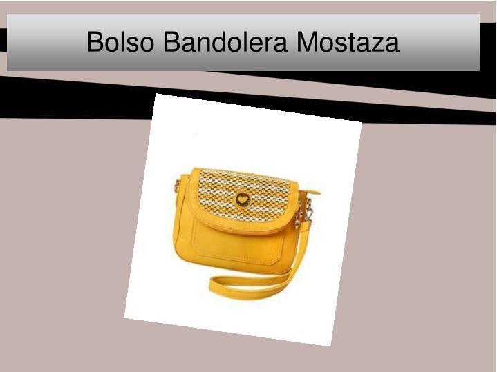 Bolso Bandolera Mostaza