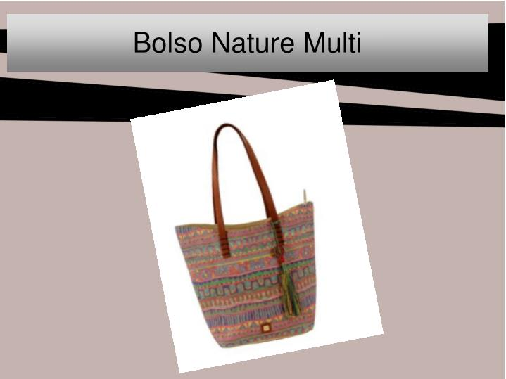 Bolso Nature Multi